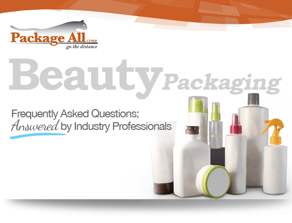 Bottling Beauty…Available Packaging Options