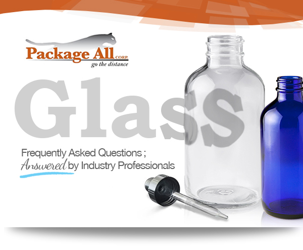 A quick class, on our packaging glass