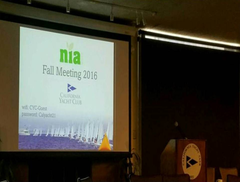 NIA Fall Meeting Marina Del Rey 2016