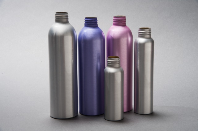 afb749230e 4oz Brushed Aluminium Bullet Bottles | Package All