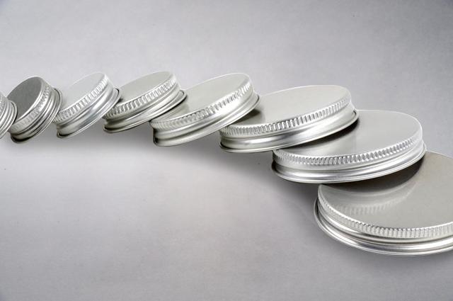 70mm Aluminium CT Caps